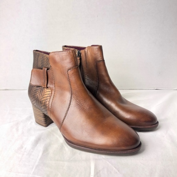 beauty wide range new list Tamaris Shoes | Brown Leather Ankle Boots | Poshmark